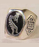 Kokopelli, the Flute Player Ring