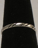 Sterling Silver Band No 50